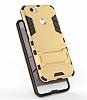 Eiroo Iron Armor Huawei Nova Standlı Ultra Koruma Gold Kılıf - Resim 1