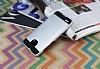 Eiroo Iron Shield Huawei GR3 Ultra Koruma Silver Kılıf - Resim 2