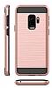 Eiroo Iron Shield Samsung Galaxy A8 2018 Ultra Koruma Rose Gold Kılıf - Resim 3