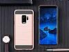 Eiroo Iron Shield Samsung Galaxy A8 2018 Ultra Koruma Rose Gold Kılıf - Resim 4