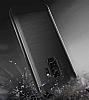 Eiroo Iron Shield Samsung Galaxy A8 Plus 2018 Ultra Koruma Siyah Kılıf - Resim 2