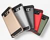 Eiroo Iron Shield Samsung Galaxy Note 5 Ultra Koruma Siyah Kılıf - Resim 2