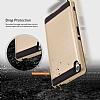 Eiroo Iron Shield Sony Xperia XA Gold Kılıf - Resim 4