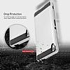 Eiroo Iron Shield Sony Xperia XA Silver Kılıf - Resim 1