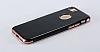 Eiroo Jet Fit iPhone 6 Plus / 6S Plus Dark Silver Jet Black Siyah Silikon Kılıf - Resim 1