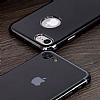 Eiroo Jet Fit iPhone 6 Plus / 6S Plus Dark Silver Jet Black Siyah Silikon Kılıf - Resim 8