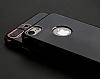 Eiroo Jet Fit iPhone 6 Plus / 6S Plus Dark Silver Jet Black Siyah Silikon Kılıf - Resim 12