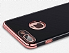 Eiroo Jet Fit iPhone 6 Plus / 6S Plus Dark Silver Jet Black Siyah Silikon Kılıf - Resim 11