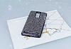 Eiroo Lenovo Vibe K5 Note Taşlı Siyah Silikon Kılıf - Resim 1