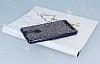 Eiroo Lenovo Vibe K5 Note Taşlı Siyah Silikon Kılıf - Resim 2