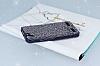 Eiroo Lenovo Vibe K5 Taşlı Siyah Silikon Kılıf - Resim 2