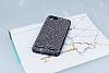 Eiroo Lenovo Vibe K5 Taşlı Siyah Silikon Kılıf - Resim 1