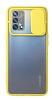 Eiroo Lens Series Oppo A74 Sarı Silikon Kılıf