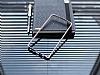 Eiroo LG G4 Gold Çizgili Round Metal Bumper Çerçeve Silver Kılıf - Resim 2