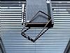 Eiroo LG G4 Gold Çizgili Round Metal Bumper Çerçeve Siyah Kılıf - Resim 2