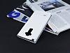 LG G4 Stylus Gizli Mıknatıslı Pencereli Beyaz Deri Kılıf - Resim 2