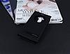 LG G4 Stylus Gizli Mıknatıslı Pencereli Siyah Deri Kılıf - Resim 1