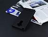 LG G4 Stylus Gizli Mıknatıslı Pencereli Siyah Deri Kılıf - Resim 2