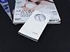 LG G4 Stylus Gizli Mıknatıslı Pencereli Beyaz Deri Kılıf - Resim 1