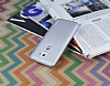 Eiroo Lucatelli LG G2 Ultra İnce Silver Rubber Kılıf - Resim 2