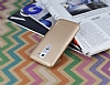 Eiroo Lucatelli LG G2 Ultra İnce Gold Rubber Kılıf - Resim 2