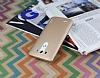 Eiroo Lucatelli LG G3 Ultra İnce Gold Rubber Kılıf - Resim 2