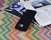 Eiroo Lucatelli Samsung Galaxy S6 Edge Ultra İnce Siyah Rubber Kılıf - Resim 1