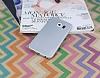 Eiroo Lucatelli Samsung Galaxy S6 Edge Ultra İnce Silver Rubber Kılıf - Resim 2