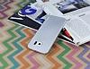 Eiroo Lucatelli Samsung i9800 Galaxy S6 Ultra İnce Silver Rubber Kılıf - Resim 1