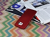 Eiroo Lucatelli Samsung i9800 Galaxy S6 Ultra İnce Bordo Rubber Kılıf - Resim 1
