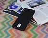 Eiroo Lucatelli Samsung N9000 Galaxy Note 3 Ultra İnce Siyah Rubber Kılıf - Resim 2