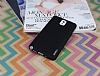 Eiroo Lucatelli Samsung N9000 Galaxy Note 3 Ultra İnce Siyah Rubber Kılıf - Resim 1