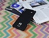 Eiroo Lucatelli Samsung N9100 Galaxy Note 4 Ultra İnce Siyah Rubber Kılıf - Resim 2