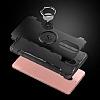 Eiroo Mage Fit Huawei Mate 9 Pro Standlı Ultra Koruma Siyah Kılıf - Resim 2