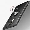 Eiroo Mage Fit Huawei Mate 9 Standlı Ultra Koruma Gold Kılıf - Resim 1