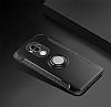 Eiroo Mage Fit Huawei Mate 9 Standlı Ultra Koruma Gold Kılıf - Resim 4