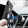 Eiroo Mage Fit Huawei P10 Lite Standlı Ultra Koruma Siyah Kılıf - Resim 8