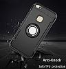Eiroo Mage Fit Huawei P10 Lite Standlı Ultra Koruma Siyah Kılıf - Resim 3