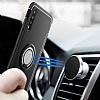 Eiroo Mage Fit Huawei P20 Standlı Ultra Koruma Kırmızı Kılıf - Resim 4