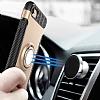Eiroo Mage Fit iPhone 6 / 6S Standlı Ultra Koruma Rose Gold Kılıf - Resim 2