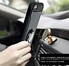 Eiroo Mage Fit iPhone 6 / 6S Standlı Ultra Koruma Rose Gold Kılıf - Resim 6