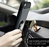 Eiroo Mage Fit iPhone 6 / 6S Standlı Ultra Koruma Silver Kılıf - Resim 6