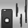 Eiroo Mage Fit iPhone 6 Plus / 6S Plus Standlı Ultra Koruma Silver Kılıf - Resim 8