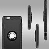 Eiroo Mage Fit iPhone 6 Plus / 6S Plus Standlı Ultra Koruma Rose Gold Kılıf - Resim 8