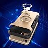 Eiroo Mage Fit iPhone 7 / 8 Standlı Ultra Koruma Gold Kılıf - Resim 4