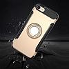 Eiroo Mage Fit iPhone 7 / 8 Standlı Ultra Koruma Lacivert Kılıf - Resim 8