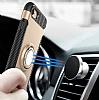 Eiroo Mage Fit iPhone 7 / 8 Standlı Ultra Koruma Gold Kılıf - Resim 5