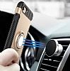 Eiroo Mage Fit iPhone 7 / 8 Standlı Ultra Koruma Lacivert Kılıf - Resim 5