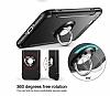 Eiroo Mage Fit iPhone 7 Plus / 8 Plus Standlı Ultra Koruma Siyah Kılıf - Resim 5