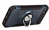 Eiroo Mage Fit iPhone SE / 5 / 5S Standlı Ultra Koruma Silver Kılıf - Resim 3